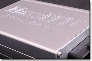 Specialdesigned MaxxECu unit with NO:500 engraving
