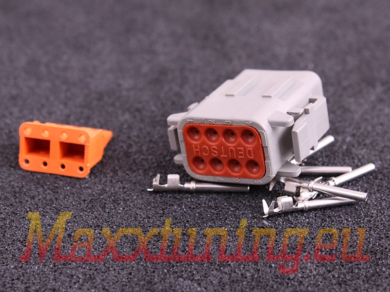 Connector 8-way socket housing DTM