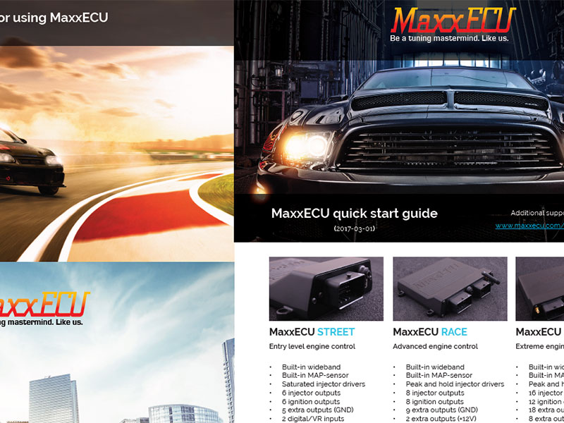 MaxxECU Quick Guide (English)
