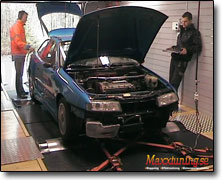 Dynotesting Opel Calibra 16v - Orginal ECU