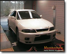 Dynotesting Nissan RB26 (2600cc) Apexi Power Fc, Orginal, Bensin 95/98