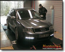 Dynotesting Audi RS6 - Orginal ECU