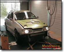Tuning Ford 16v Cosworth (2000cc) Orginal ECU, , Bensin 95/98