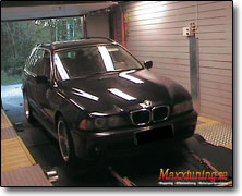 Dynotesting BMW 525 - Orginal ECU