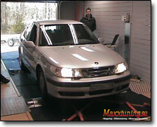Chiptuning Saab 95 - Orginal ECU