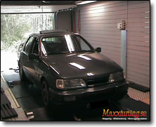 Dynotesting Ford Sierra Cosworth - Orginal ECU