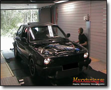 Dynotesting BMW Turbo - Autronic SM4