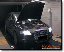 Chiptuning Audi A6 - Orginal ECU