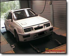 Tuning Ford Sierra Cosworth - DTA P8 PRO