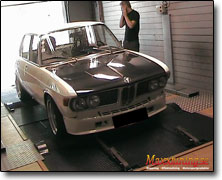 Dynotesting BMW 2800 - Orginal ECU