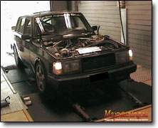 Tuning Volvo 240 Turbo Omex 600
