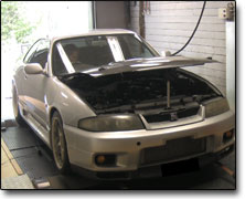 Tuning Nissan RB26 (2600cc) Apexi Power Fc, Garett 2860, Vpower