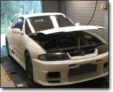 Tuning Nissan RB26 (2600cc) Apexi Power Fc, Garett T04Z, Vpower