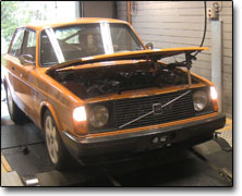 Tuning Volvo 240 Turbo - Vipec