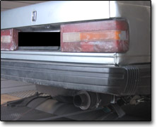 Tuning Volvo 740 Turbo - Nira I3+
