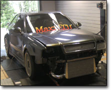 Installation and tuning Audi 5-cyl (2600cc) MaxxECU V1, , E85
