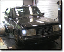 Tuning Volvo 240 Turbo Nira I3+