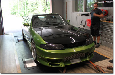 Installation and tuning Nissan Skyline GTS - MaxxECU V1 Plugin
