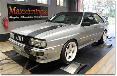 Installation and tuning Audi UrQuattro - MaxxECU V1