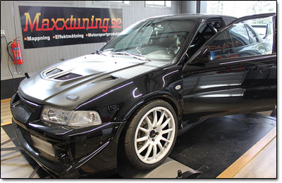 Installation and tuning Mitsubishi EVO 6 - MaxxECU V1