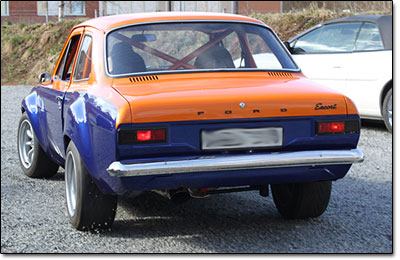 Installation and tuning Ford Escort MK1 - MaxxECU V1