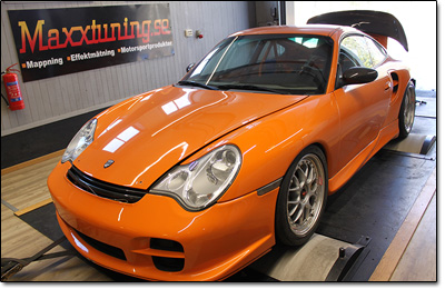 Installation and tuning Porsche 996 Turbo - MaxxECU V1 Plugin
