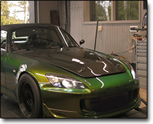 Installation and tuning Honda S2000 (2000cc) MaxxECU V1, Kraftwerks supercharger, Bensin 95/98