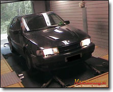 Dynotesting Saab 9000 - Orginal ECU
